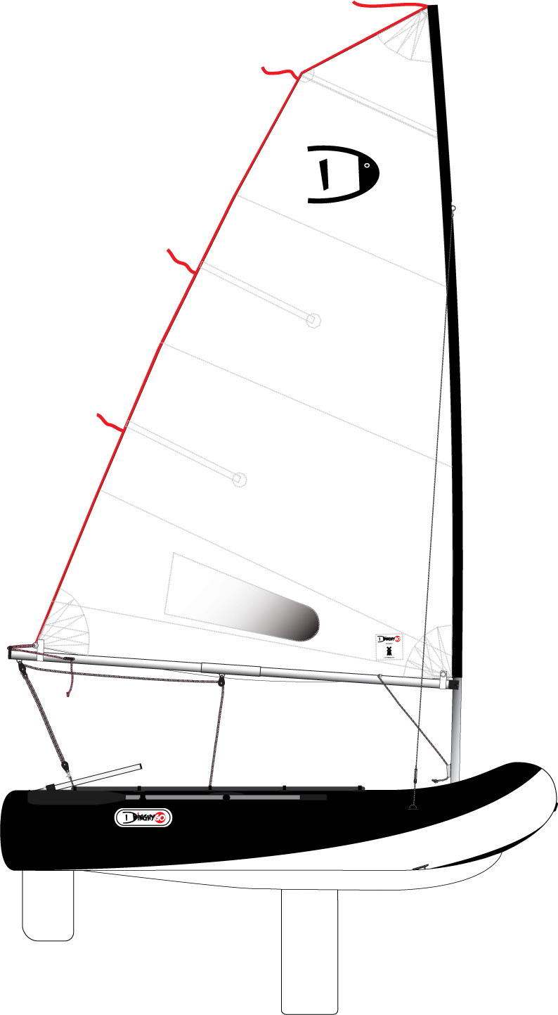 DinghyGo Orca 280 4.8 (delivery April 2021)