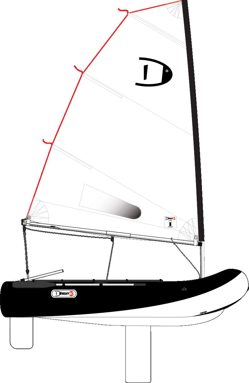 DinghyGo Orca 280 4.8 (delivery April 2021)