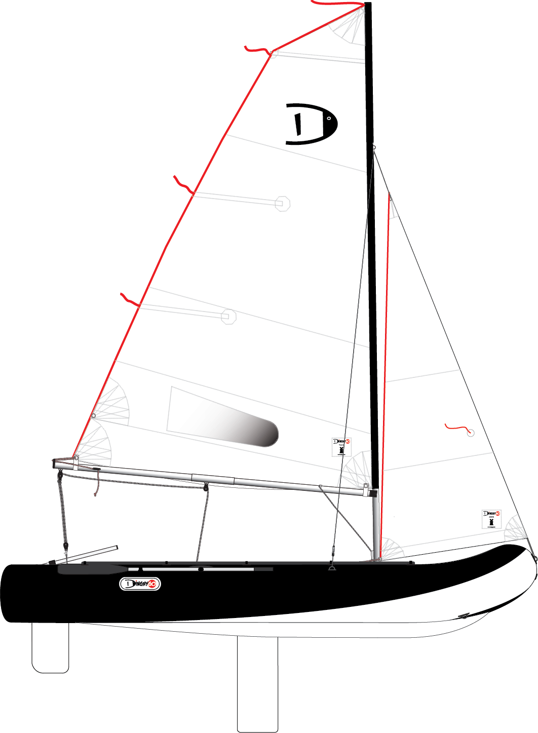 DinghyGo Orca 375 (delivery April, 2021)